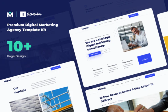 Mapan - Digital Marketing Template Kits