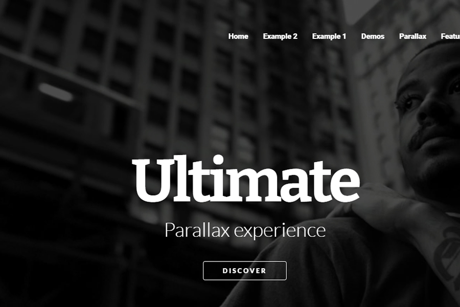 Morpheus - Ultimate One Page Parallax Theme