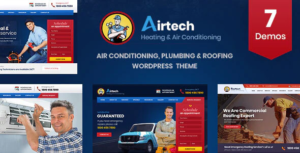 Airtech - Plumber HVAC and Repair theme