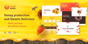 SweetMielo - Honey Production and Sweets Delicious WordPress Theme