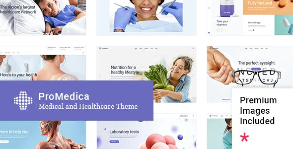 ProMedica - Medical and Healthcare Theme