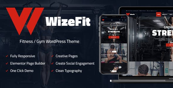 WizeFit - Fitness and Gym