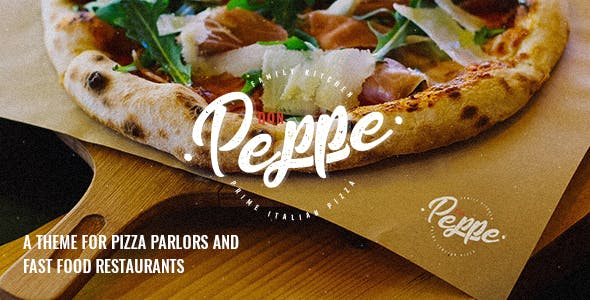 Don Peppe - Pizza and Fast Food Theme