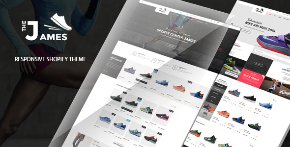 James - Responsive Shoes Shopify Theme - Sectioned