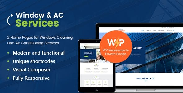 AC Services | Air Conditioning and Heating Company WordPress Theme