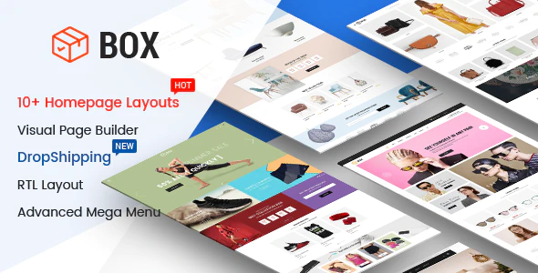 Box - The Clean, Minimal & Multipurpose Shopify Theme with Sections (10+ HomePages)