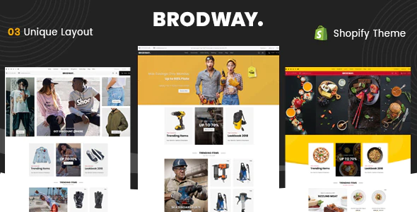 Brodway - Sectioned Multipurpose Shopify Theme