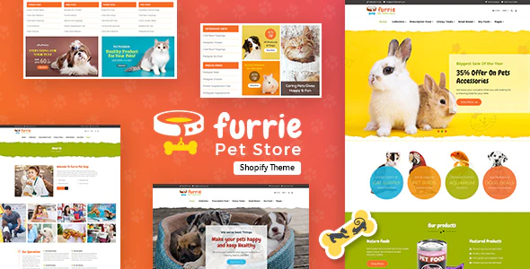 Furrie | Shopify Pet Store, Dog Care