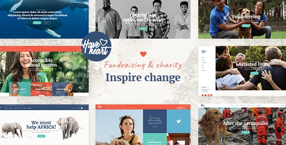 HaveHeart - Fundraising and Charity Theme