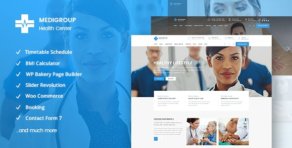 Medigroup - Medical and Health Theme