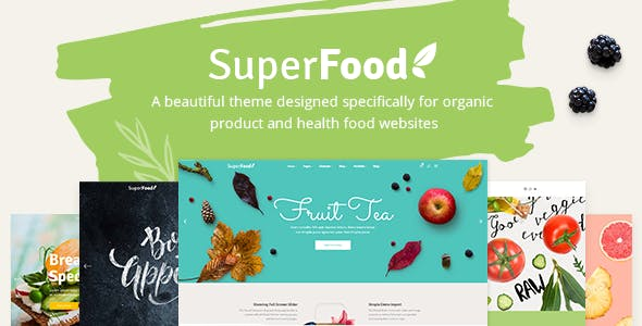 Superfood - Organic Food Products Theme