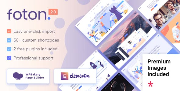 Foton - Software and App Landing Page Theme