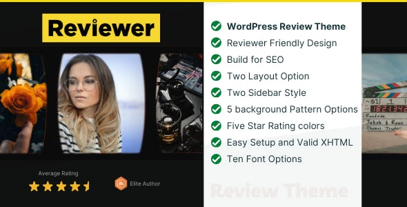 Reviewer - WP Theme for Entertainment Reviews