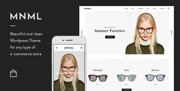 Mnml - Minimal Responsive WooCommerce Theme