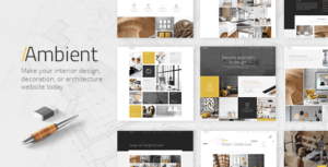 Ambient - Modern Interior Design and Decoration Theme